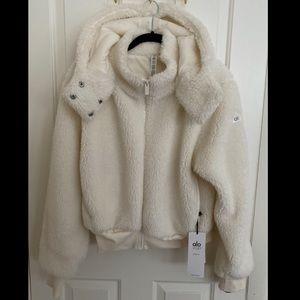 BNWT ALO Foxy Sherpa Jacket